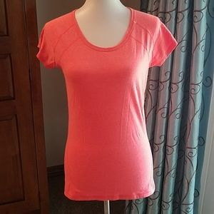 Z by Zella seamed work-out short sleeve tee